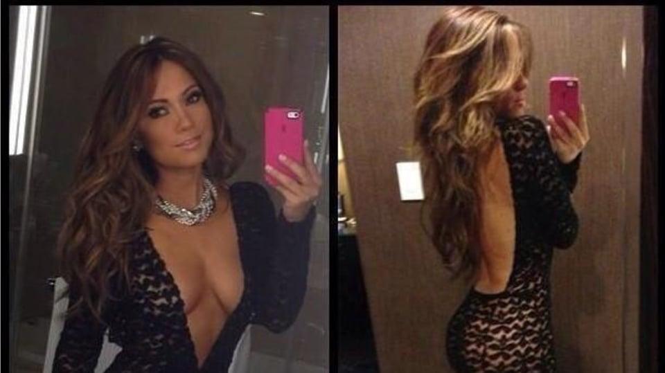 Zpěvačka Jennifer Lopez... je to lepší zepředu nebo zezadu?