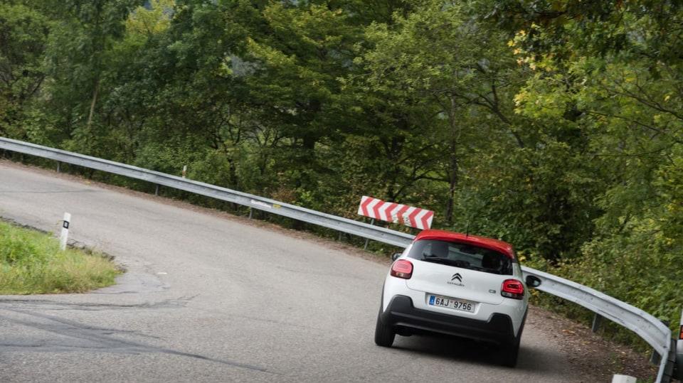 Citroën C3 1.2 PureTech jízda 1