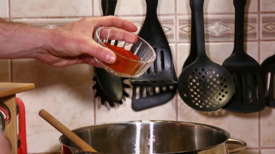 Dršťková polévka z hlívy ústřičné  2