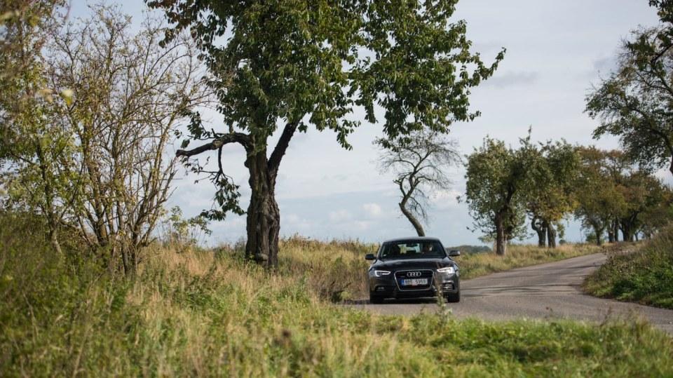 Audi A5 Sportback 2.0 TDI jízda 6