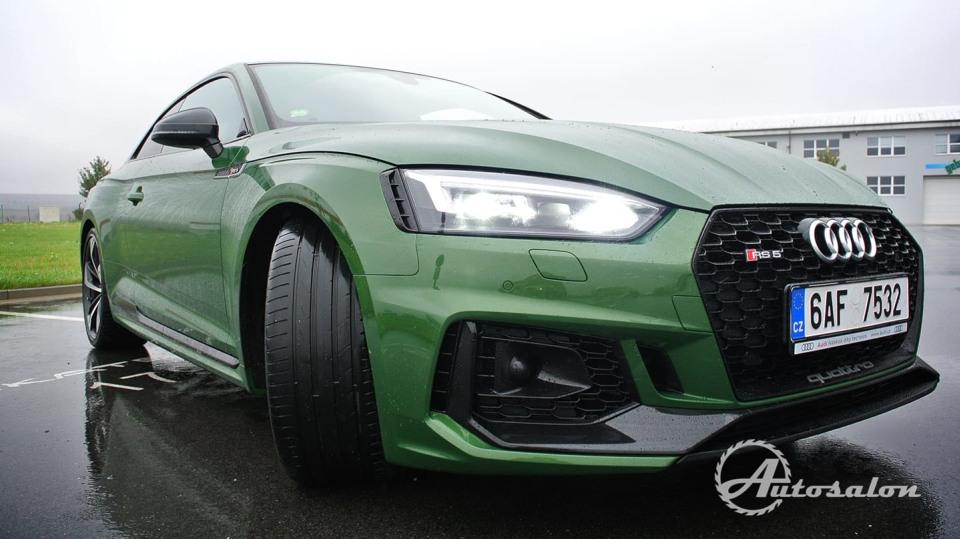 Audi RS5 - zelená, kterou budou zelení nenávidět 4