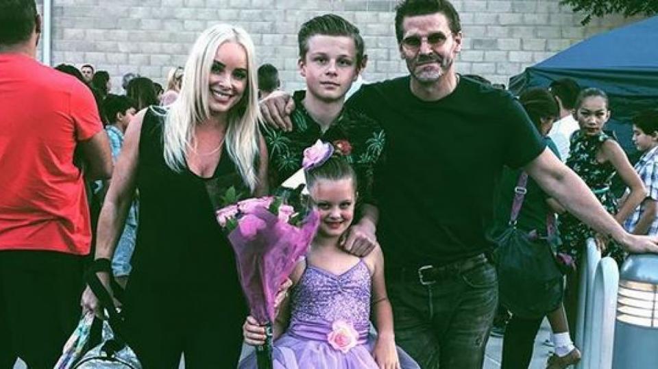 David Boreanaz teskní po rodině kvůli natáčení