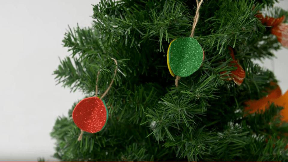 Vánoční ozdoby na stromek
