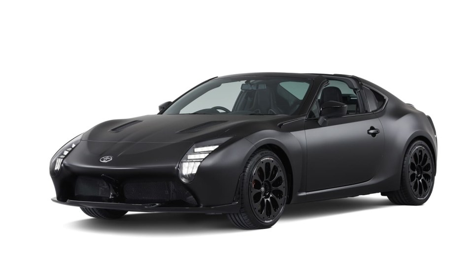 Hybridní sporťák Toyota GR HV Sports Concept. 6