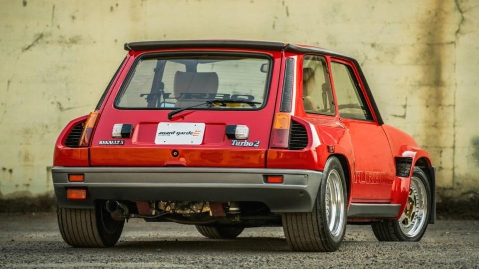 Renault 5 Turbo ve vzácné verzi Evolution. 5
