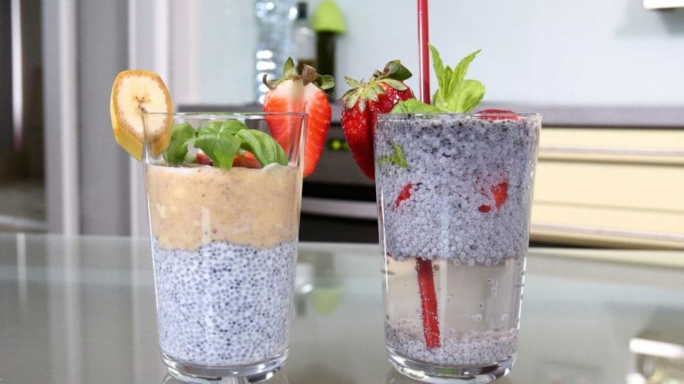 Zázračná bazalková semínka: Ochutnejte dva speciální nápoje proti únavě