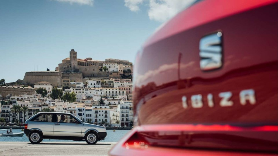 Seat Ibiza na Ibize