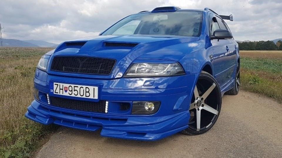 Tuningová Škoda Octavia ze Slovenska 6