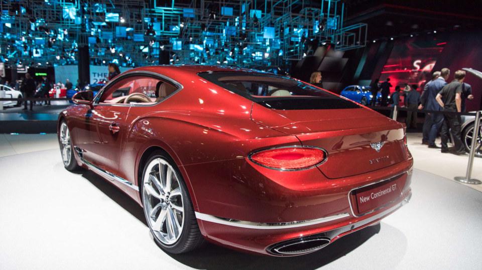 Bentley Continental GT 2018 5