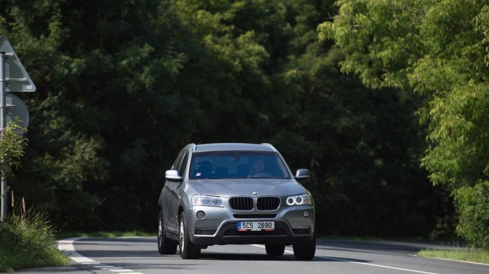 BMW X3 xDrive20d jízda 9