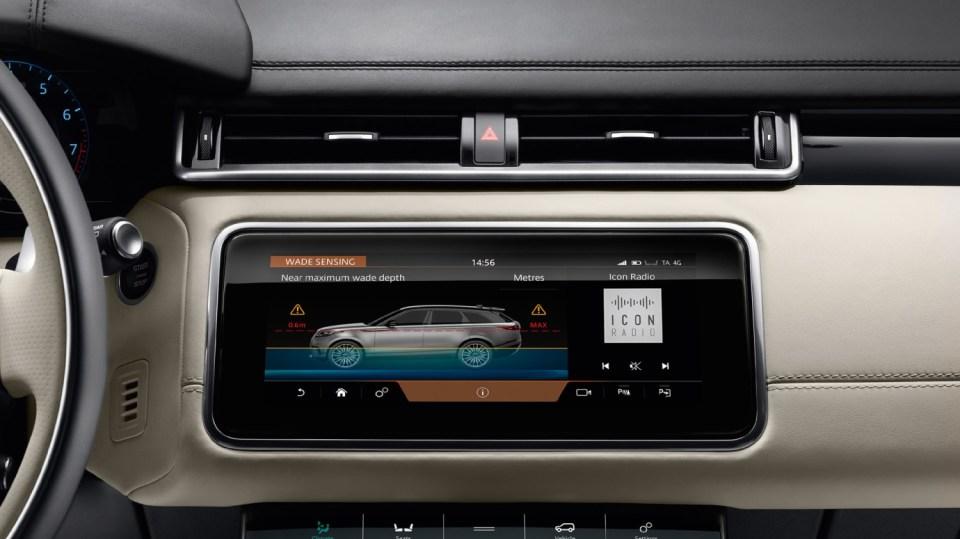Uhlazené linie Range Roveru Velar. 4