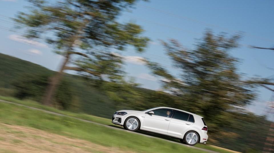 Volkswagen Golf GTI jízda 1