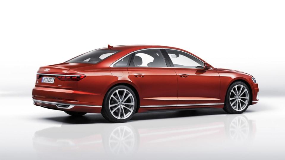 Vlajková loď Audi odhalena. Nová A8 5
