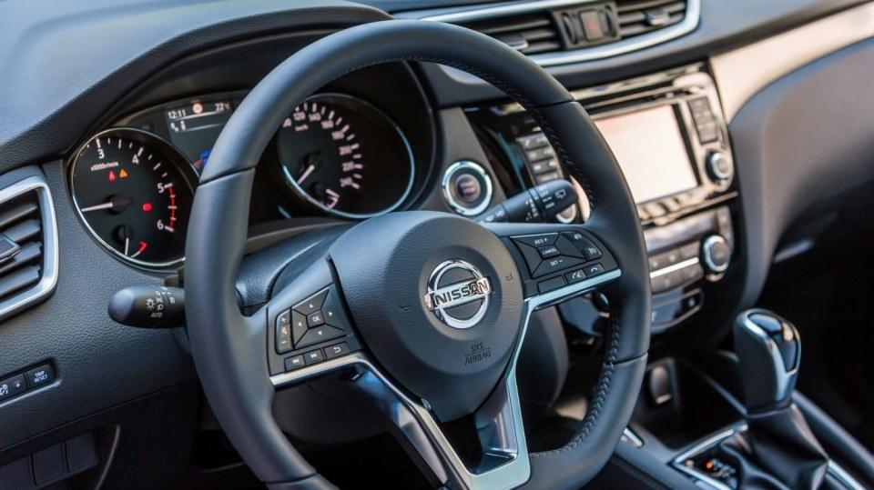 Nissan vylepšil interiér Qashqaie. 4