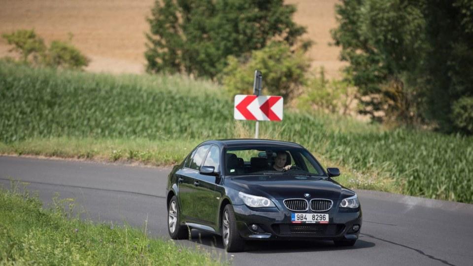 BMW 530i E60 jízda 21