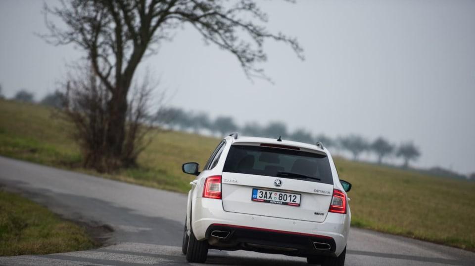 Škoda Octavia RS TDI jízda 7