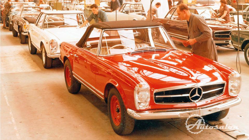 Mercedes 230 SL 4