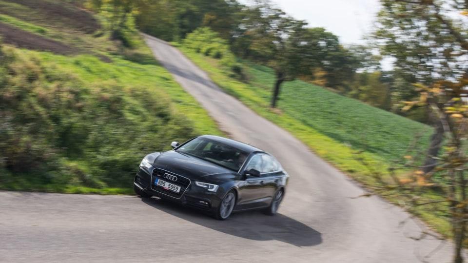 Audi A5 Sportback 2.0 TDI jízda 11