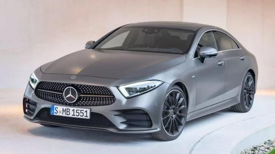 Mercedes-Benz CLS 2018 únik 2