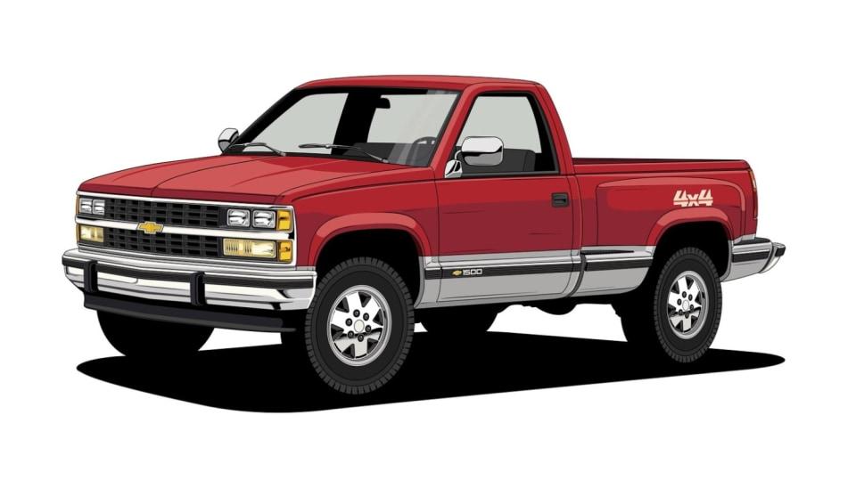 Historie pickupů od Chevroletu. 15