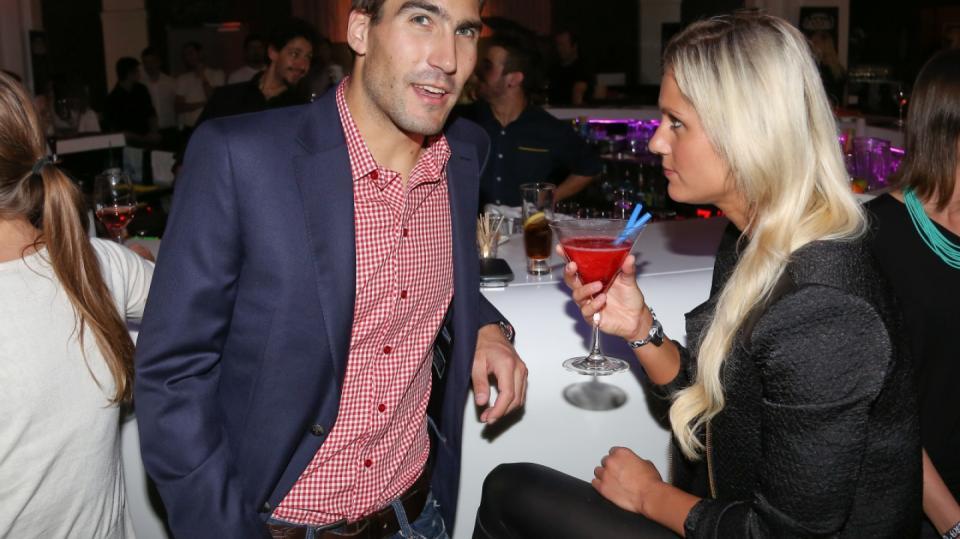 David Svoboda s přítelkyní Denisou
