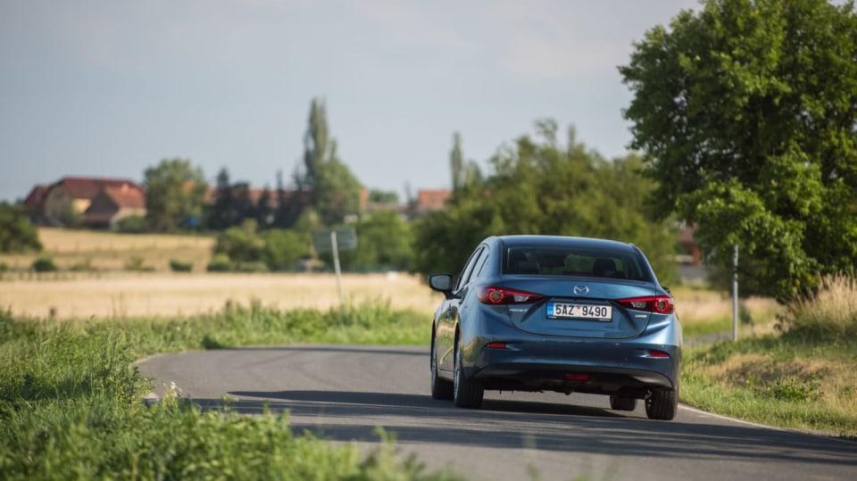 Mazda 3 má sportovní ambice. 6