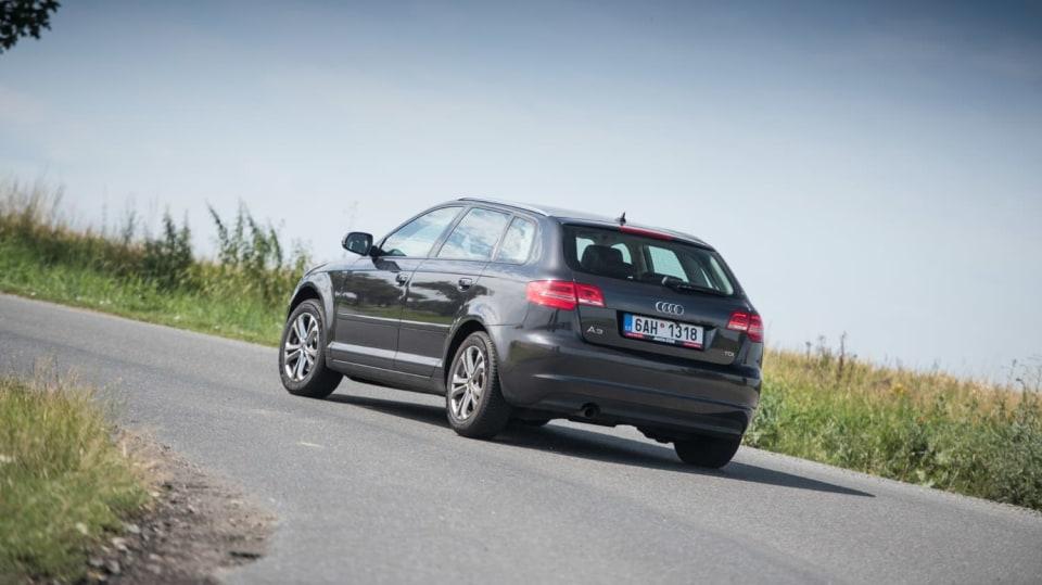 I s naftovým Audi A3 se solidně svezete. 3