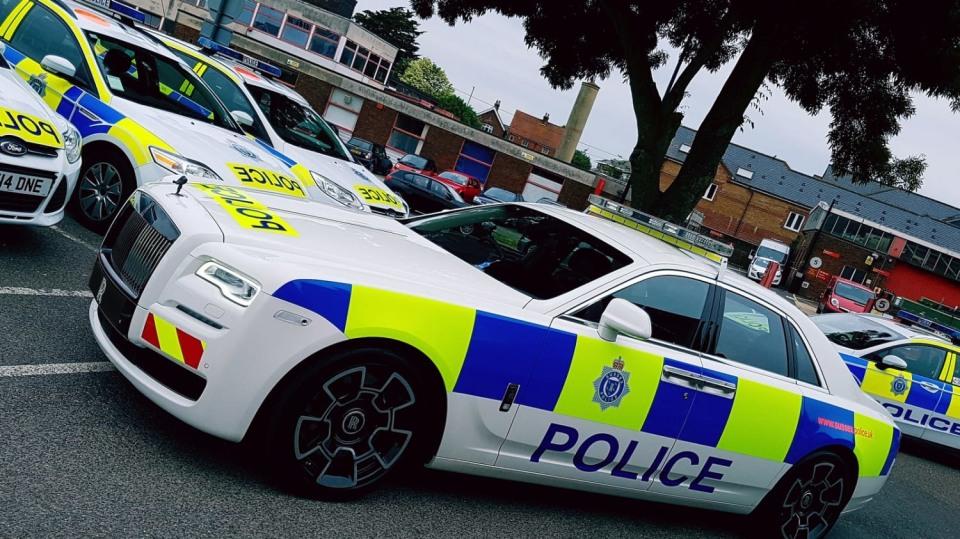 Rolls-Royce Ghost britské policie. 1