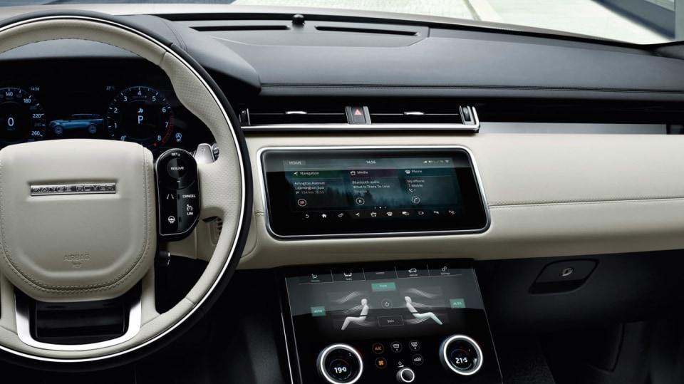 Uhlazené linie Range Roveru Velar. 2