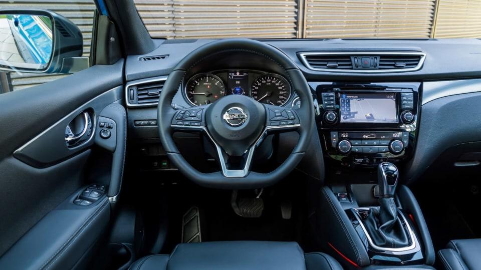 Nissan vylepšil interiér Qashqaie. 2