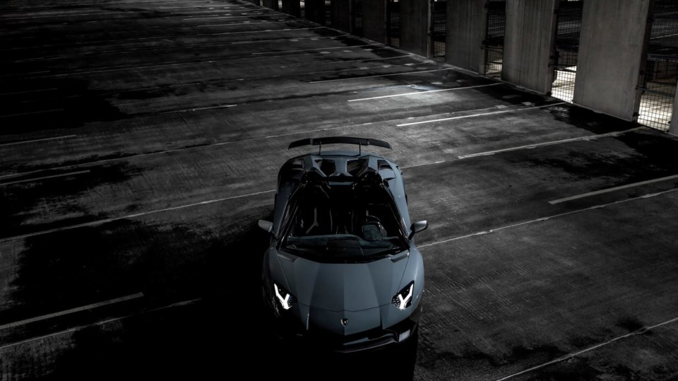 Lamborghini Aventador LP 750-4 SV Roadster od Novitec 2