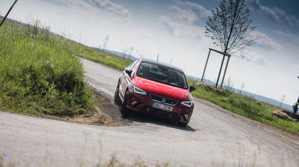 SEAT Ibiza FR 1.0 TSI jízda 5