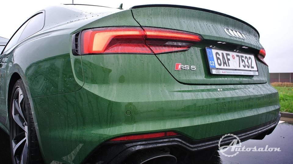 Audi RS5 - zelená, kterou budou zelení nenávidět 9