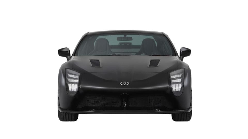 Hybridní sporťák Toyota GR HV Sports Concept. 4