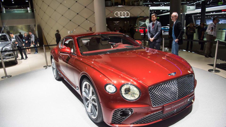 Bentley Continental GT 2018 1