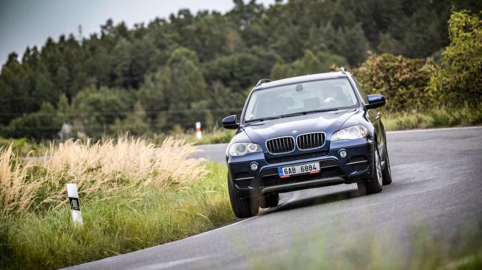 BMW X5 xDrive30d jízda 12