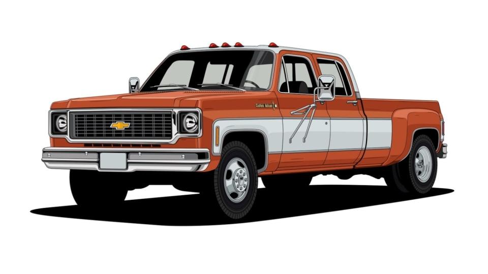Historie pickupů od Chevroletu. 13