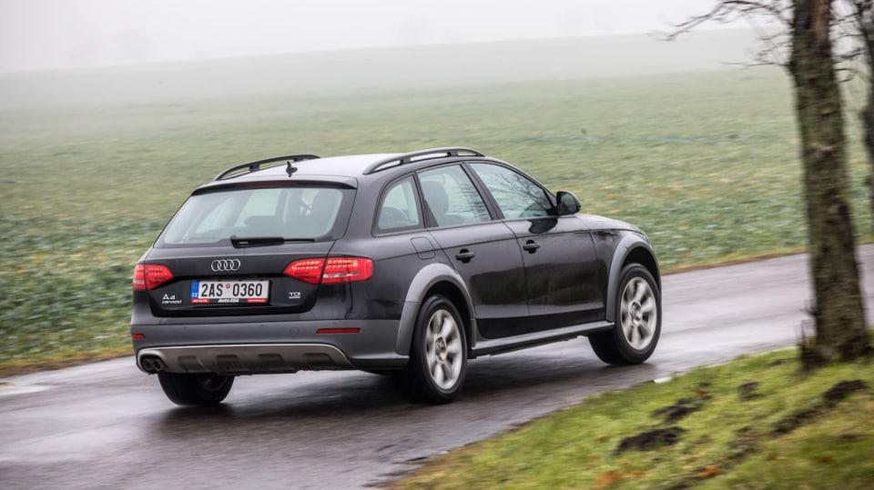 Audi A4 Allroad 2.0 TDI CR jízda 6