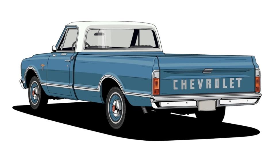 Historie pickupů od Chevroletu. 12