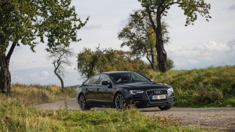 Audi A5 Sportback 2.0 TDI jízda 7
