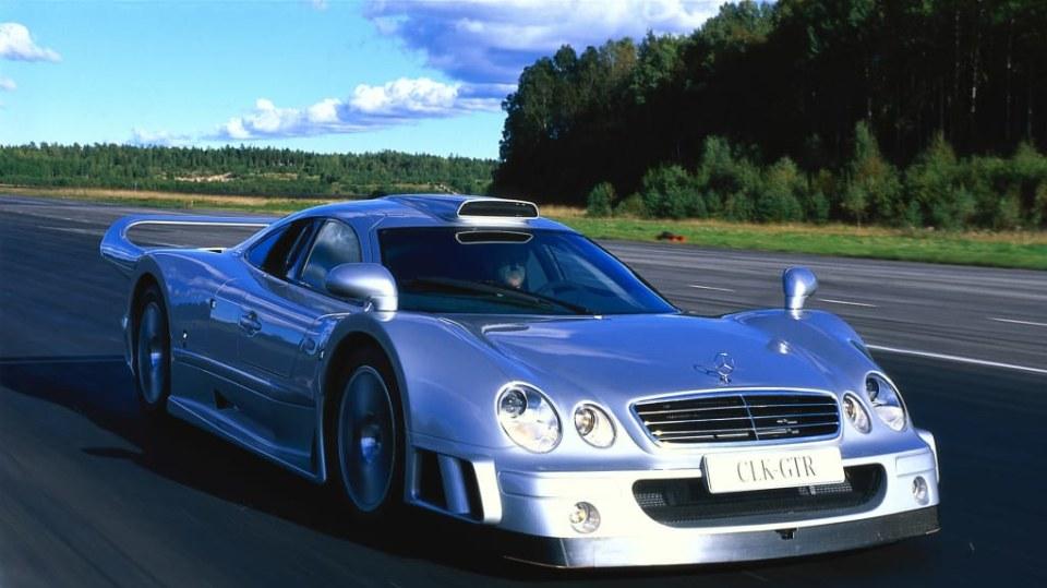 Mercedes-Benz AMG CLK GTR 12
