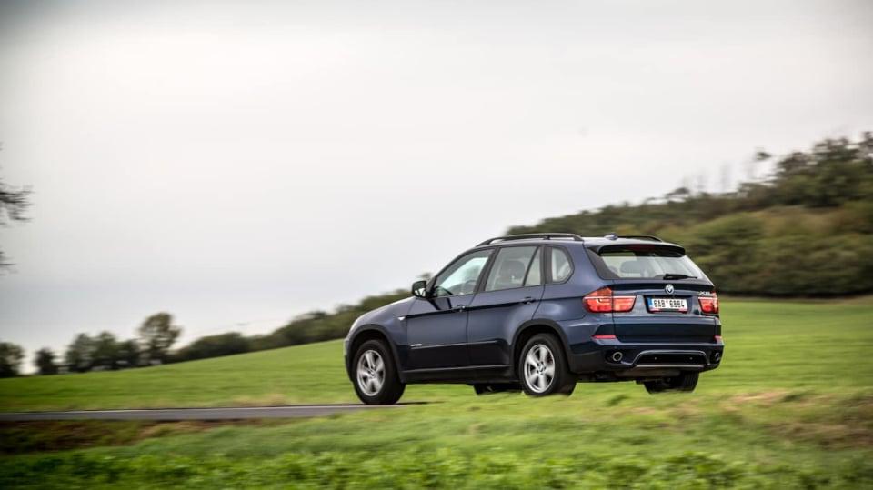 BMW X5 xDrive30d jízda 4
