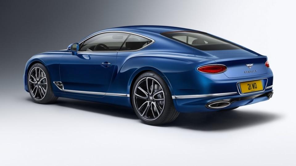Bentley odhalilo nový Continental GT, vládce luxusních kupé. 18