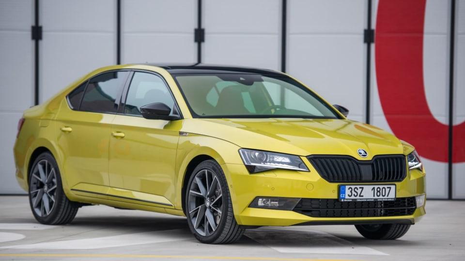 Škoda Superb 2.0 TSI 10