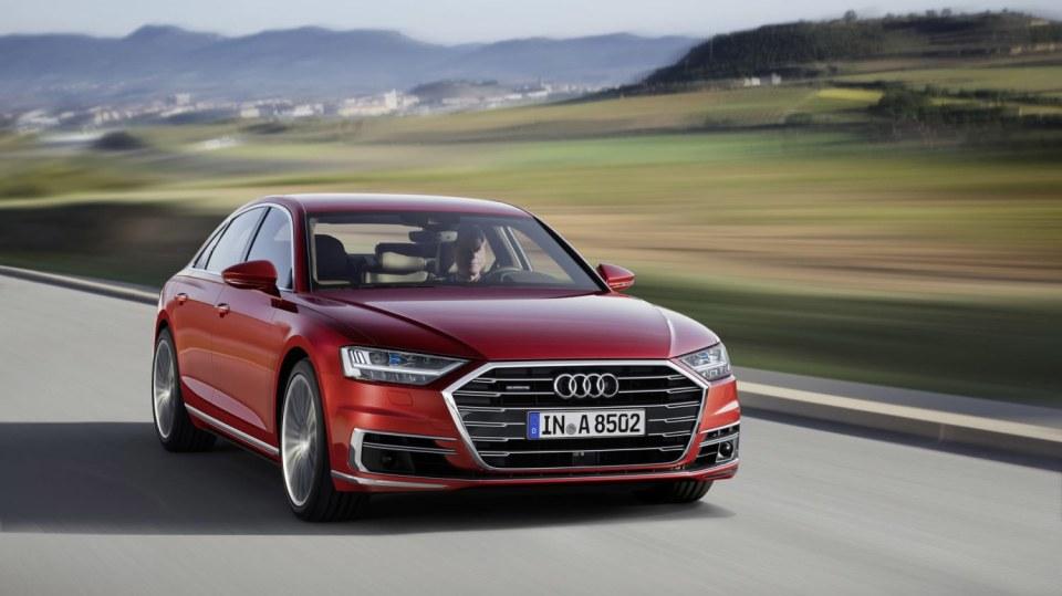 Vlajková loď Audi odhalena. Nová A8 12