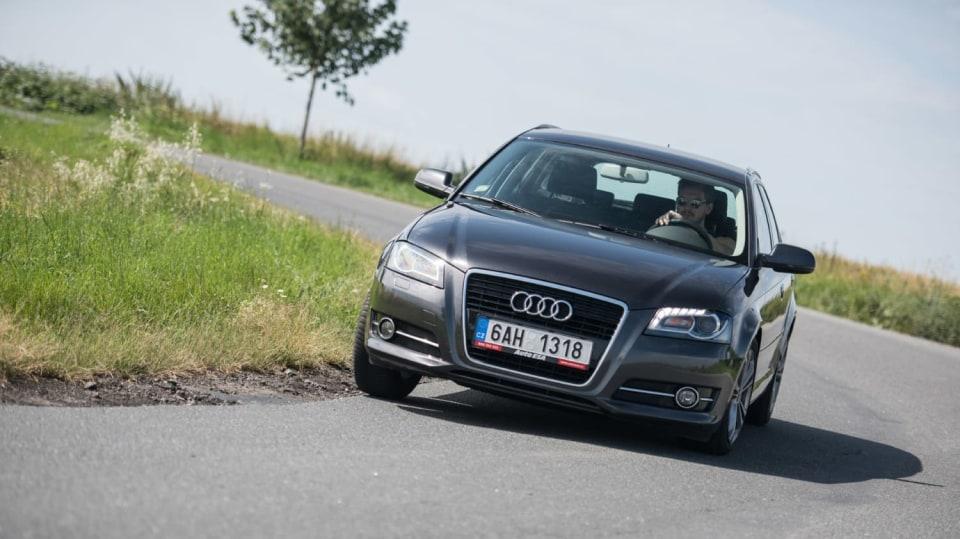 I s naftovým Audi A3 se solidně svezete. 1