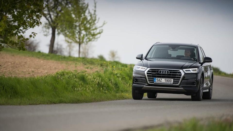 Nové Audi Q5 v pohybu 7