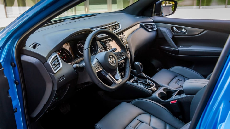 Nissan vylepšil interiér Qashqaie. 1