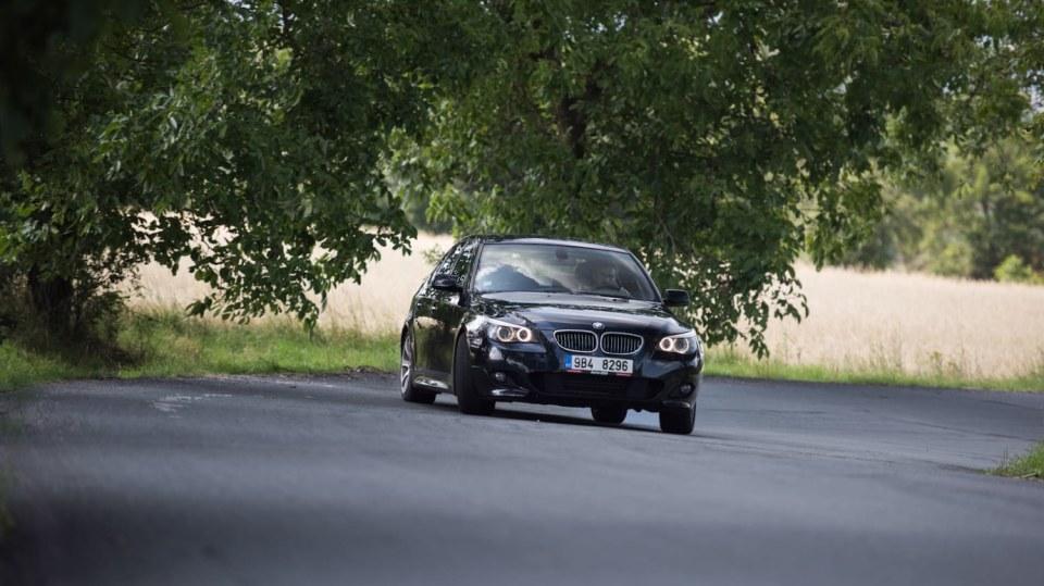 BMW 530i E60 jízda 25