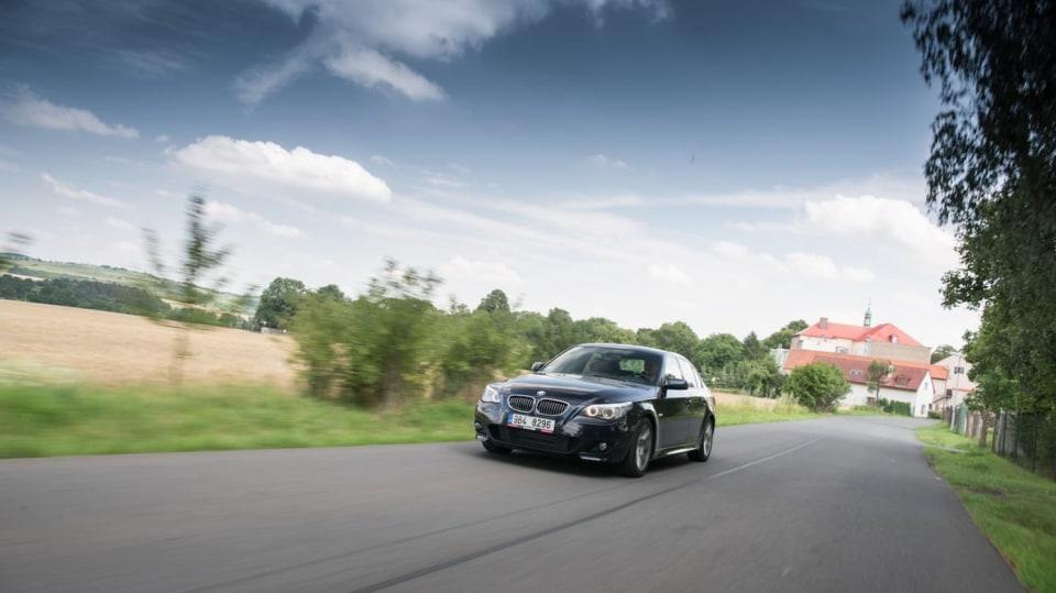 BMW 530i E60 jízda 11